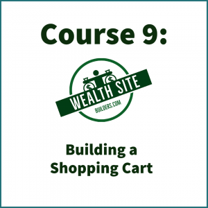 Building a Shopping Cart