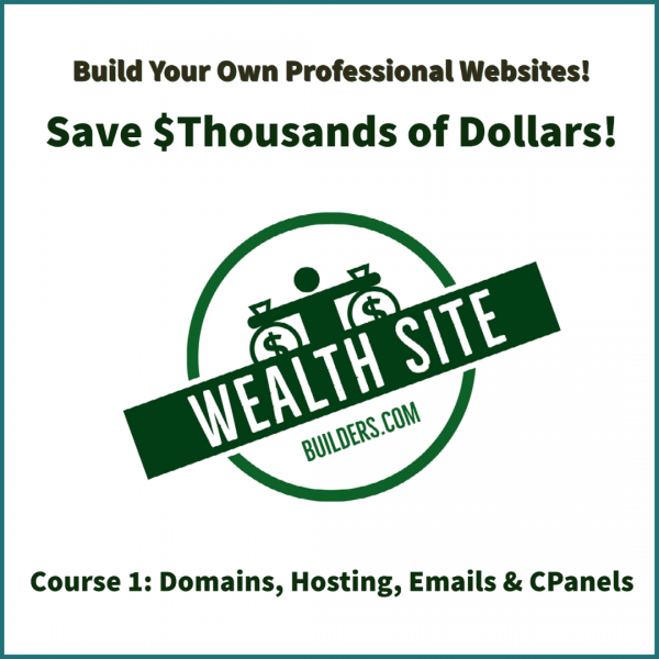 Build Your Own Websites: Course 1