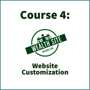 Website Customization